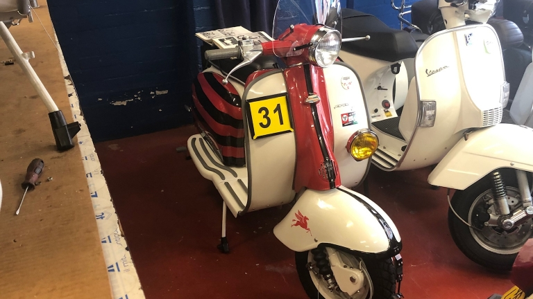 1961 Lambretta Series 2 Rally Master Replica