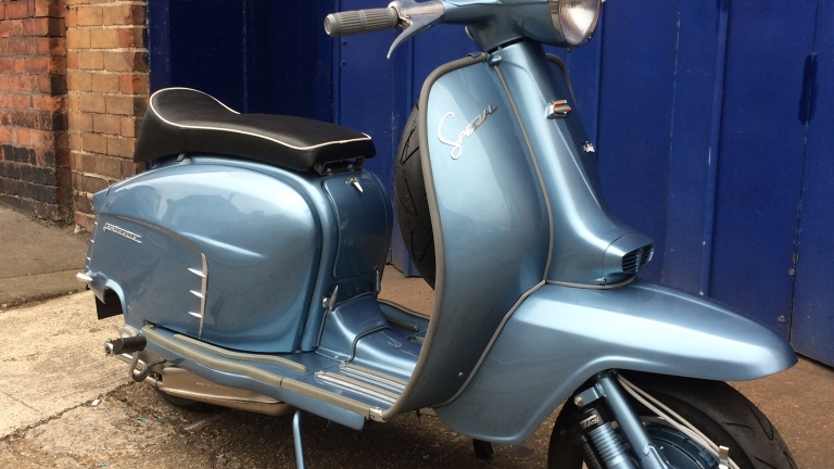 Latest Restoration Lambretta Special
