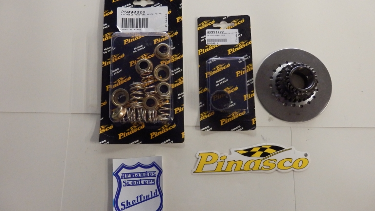 Vespa P200 Clutch conversion Kit / springs