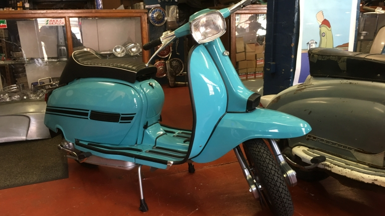 Most Recent Lambretta GP Restoration