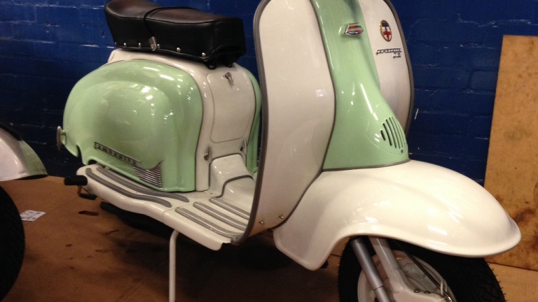 Most Recent Lambretta Series 2 Restoration