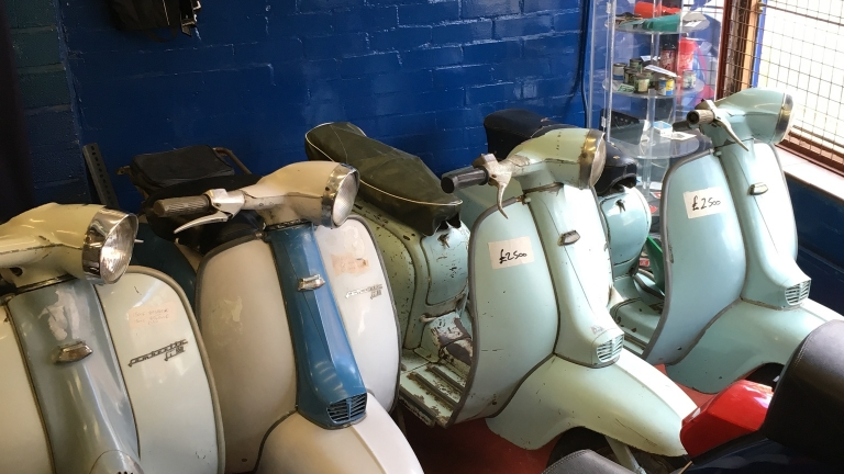 Selection of Lambretta Always Available
