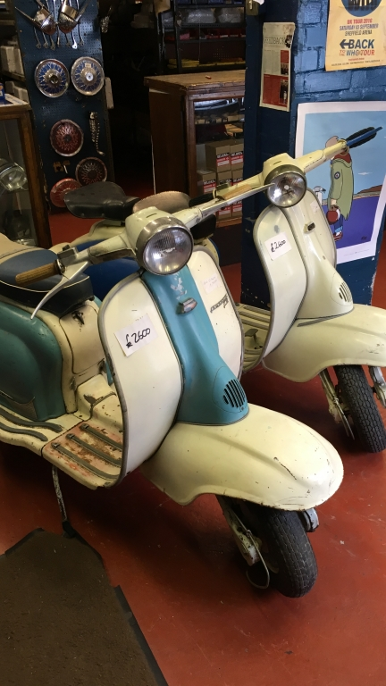 Lambretta Series 2 for restoration