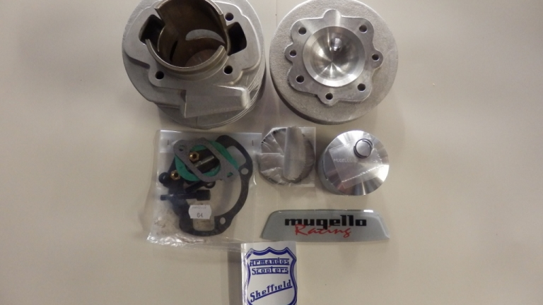 Lambretta Mugello 198 Large Block Kit