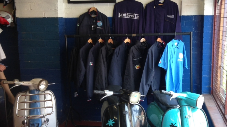 Various Lambretta Italian Clothing