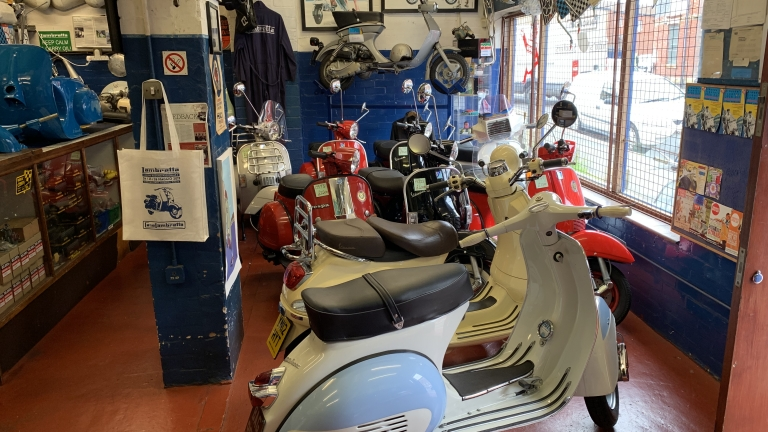 Biggest selection of Vespa scooters in the UK